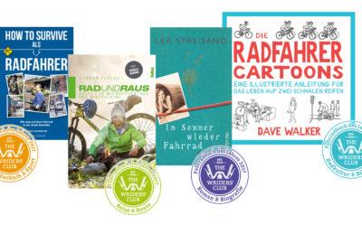 TWC-Blogger wählen die besten Fahrradbücher des Jahres