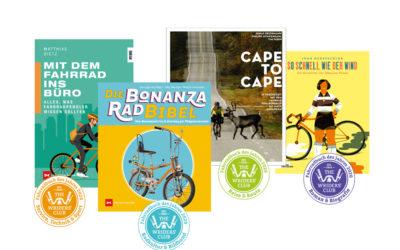 Fahrradbuch des Jahres 2020: Das sind Eure Sieger!