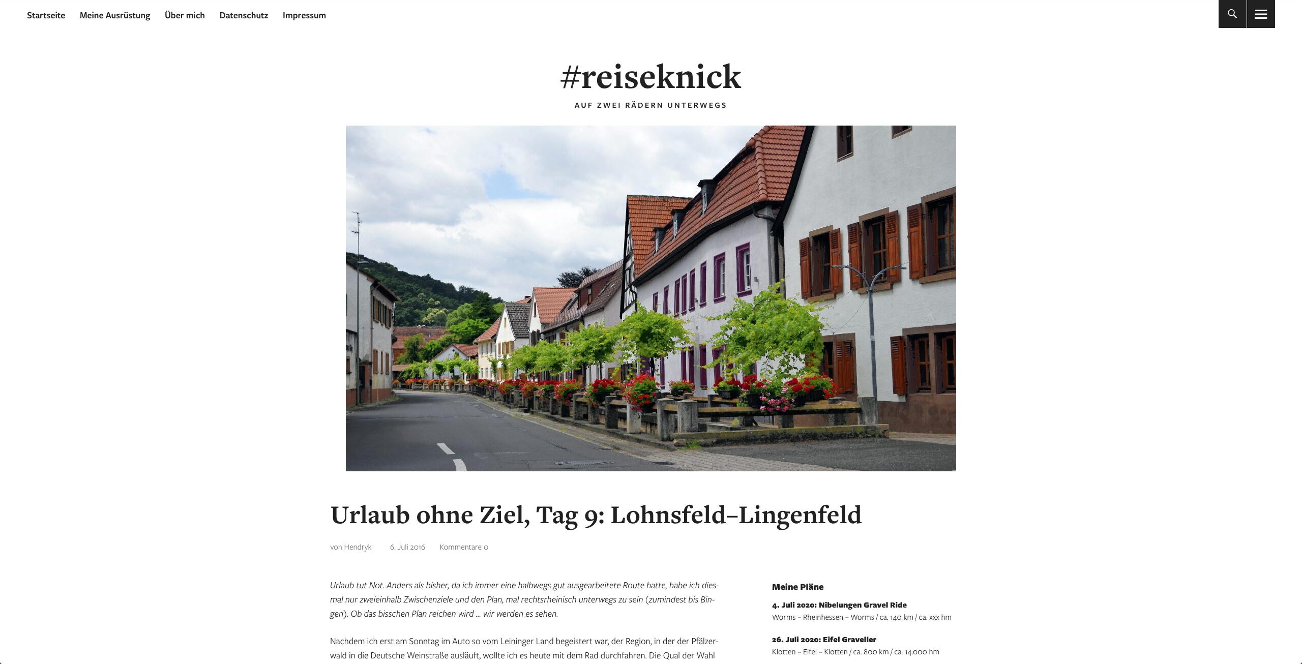 Reiseknick