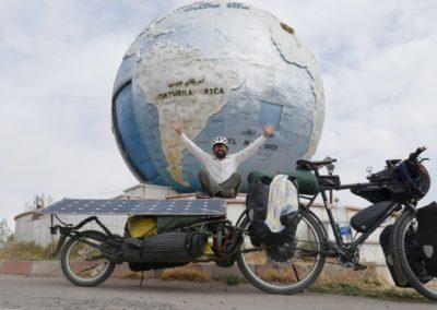 Radweltreise per Solar-Pedelec